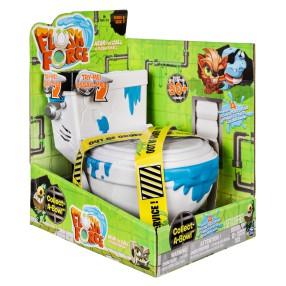 Spin Master Flush Force - Toaleta Kolekcjonerska + 4 figurek Seria 1 6039853