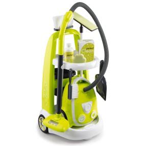 Smoby - Wózek do sprzątania z odkurzaczem 330301