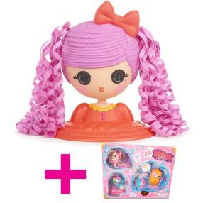 Lalaloopsy Girls - Głowa do stylizacji Fistaszka 532453