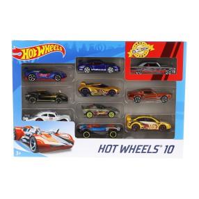 Hot Wheels - Małe samochodziki Dziesięciopak 10-pak 54886 32