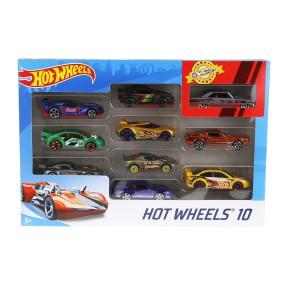 Hot Wheels - Małe samochodziki Dziesięciopak 10-pak 54886 33
