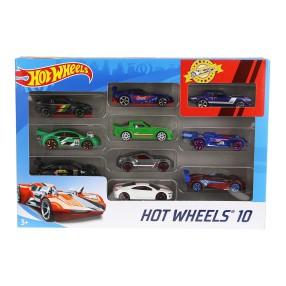 Hot Wheels - Małe samochodziki Dziesięciopak 10-pak 54886 34