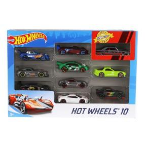 Hot Wheels - Małe samochodziki Dziesięciopak 10-pak 54886 35
