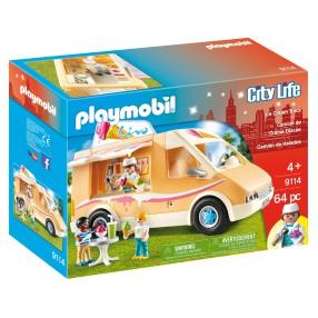 Playmobil - Furgonetka lodziarza 9114