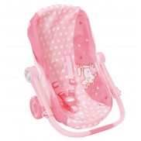 Baby Annabell - Nosidełko podróżne, fotelik i wózek 3w1 700709