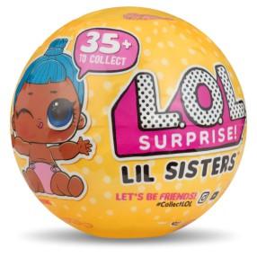 L.O.L. SURPRISE - Siostrzyczki Laleczka LOL w kuli niespodziance Seria 3.2 550709