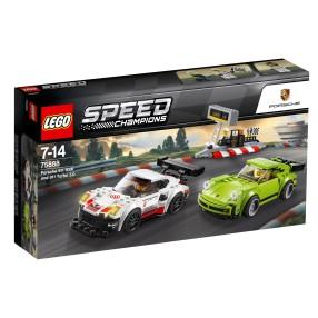 LEGO Speed Champions - Porsche 911 RSR i 911 Turbo 3.0 75888