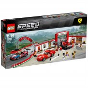LEGO Speed Champions - Rewelacyjny warsztat Ferrari 75889
