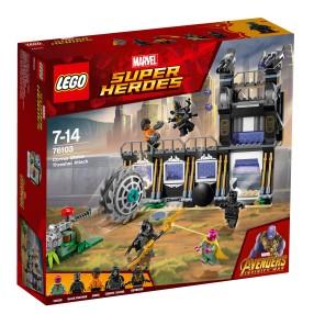 LEGO Marvel Super Heroes - Atak Corvusa Glaive'a 76103