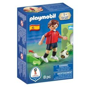 Playmobil - FIFA 2018 Piłkarz reprezentacji Hiszpanii 9517