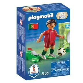 Playmobil - FIFA 2018 Piłkarz reprezentacji Portugalii 9516