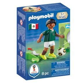 Playmobil - FIFA 2018 Piłkarz reprezentacji Meksyku 9515