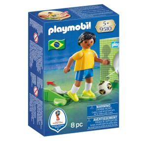 Playmobil - FIFA 2018 Piłkarz reprezentacji Brazylii 9510