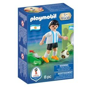 Playmobil - FIFA 2018 Piłkarz reprezentacji Argentyny 9508