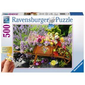 Ravensburger - Puzzle Kwiaty 500 elem. 136858