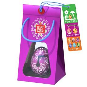 Smart Egg - Łamigłówka Jajko Edycja specjalna Różowe 3389031 C