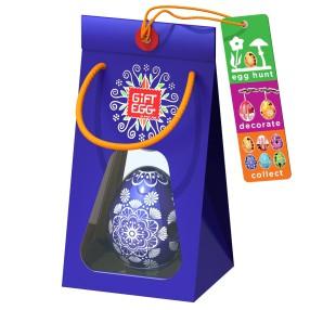 Smart Egg - Łamigłówka Jajko Edycja specjalna Granatowe 3389031 B