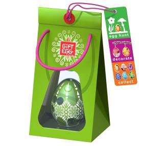 Smart Egg - Łamigłówka Jajko Edycja specjalna Zielone 3389031 F