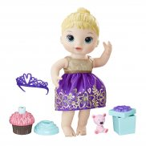 Hasbro - Baby Alive Lalka Urodzinowa lala E0596