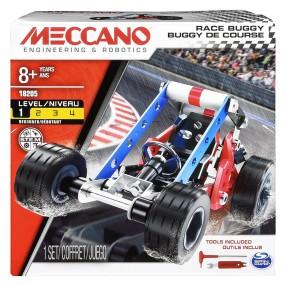 Meccano Klocki konstrukcyjne - Pojazdy wyścigowe 3w1 18205