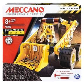 Meccano Klocki konstrukcyjne - Pojazdy budowlane 3w1 18206