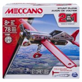Meccano Klocki konstrukcyjne - Samolot 2w1 17201