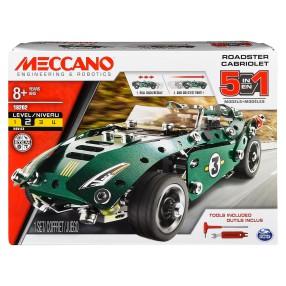 Meccano Klocki konstrukcyjne - Roadster 5w1 18202