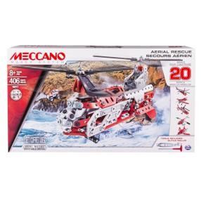 Meccano Klocki konstrukcyjne - Duży Helikopter 20w1 16211