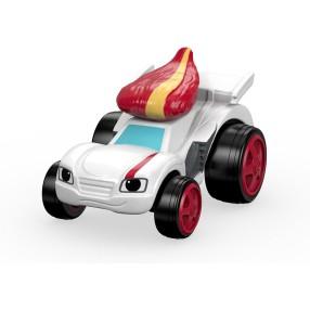 Fisher-Price Blaze - Metalowy samochodzik Race Car Speedrick DTK23
