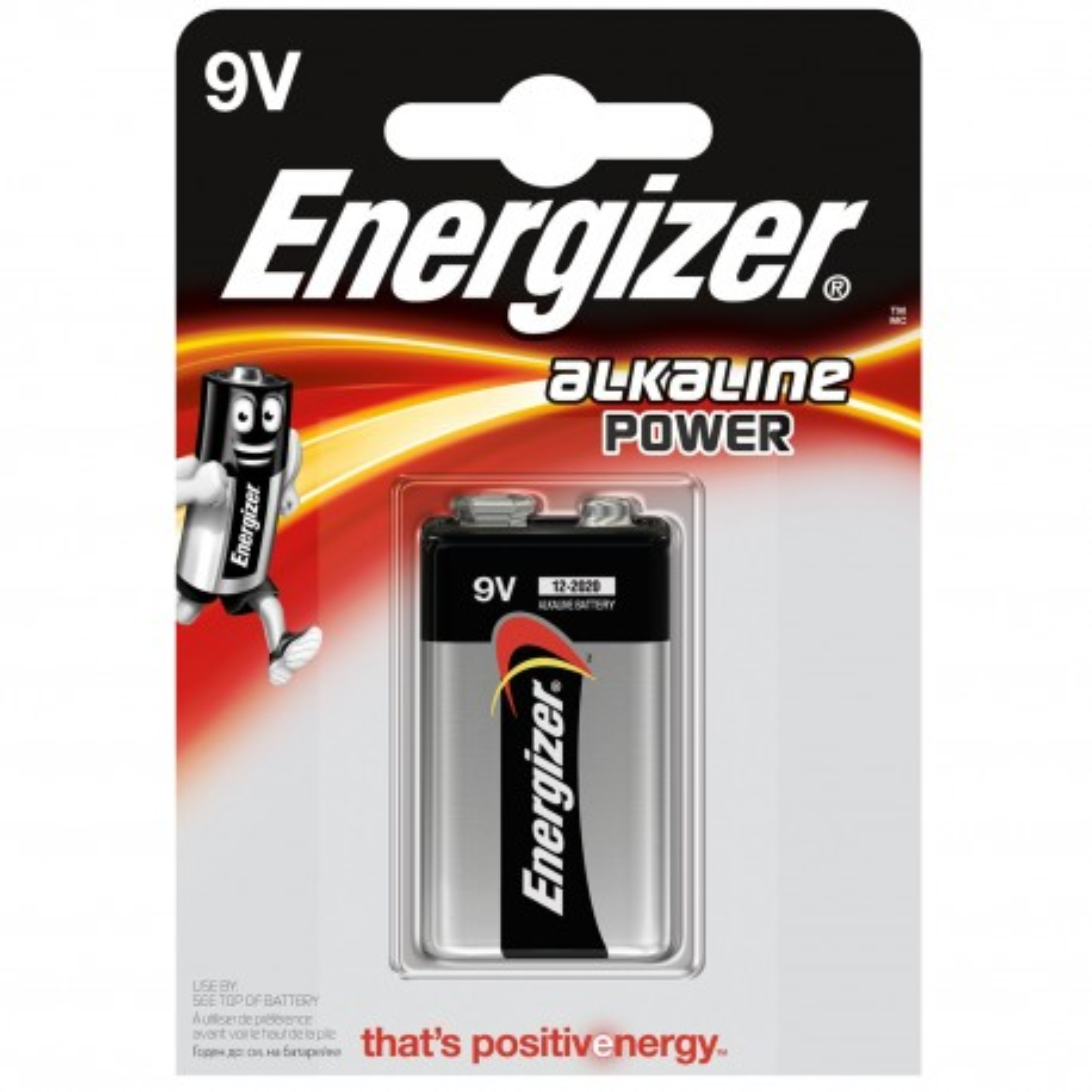 Energizer Alkaline Power - Baterie 9V/6LR61 1szt. 297409