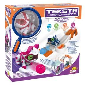 Teksta Micro-Pets - Plac zabaw i interaktywny Kotek 51476 B