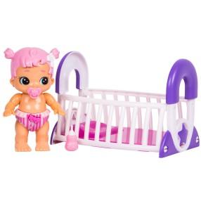 Little Live Babies - Bizzy bubs Lalka Księżniczka i kołyska 28475