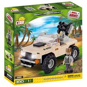 COBI Small Army - Pustynny pojazd artylerii wojskowej 2199