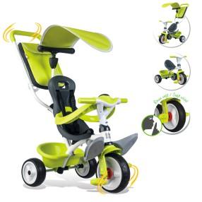 Smoby - Rowerek Baby Balade 2 3w1 zielony 741100