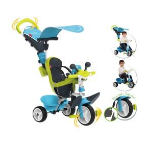 Smoby - Rowerek Baby Driver Komfort Niebieski 741200