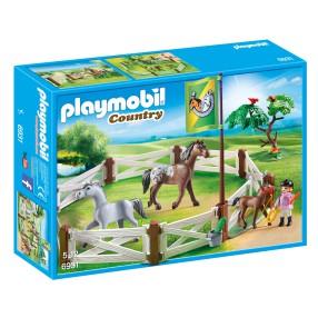 Playmobil - Wybieg dla konia 6931