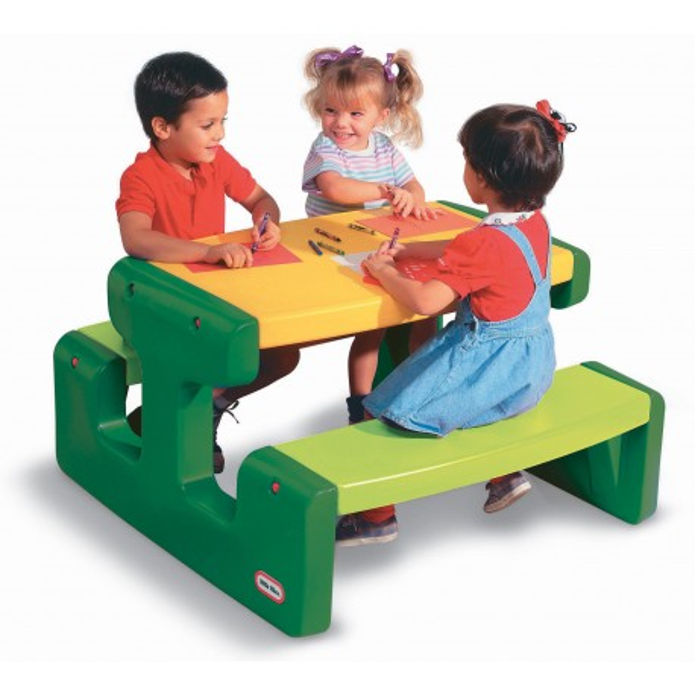 Little Tikes - Duży stół piknikowy zielony 466A