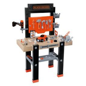 Smoby - Black & Decker Warsztat Bricolo Center + 92 Akcesoria + wiertarka 360701