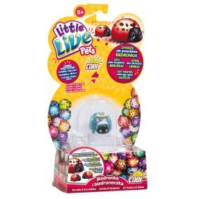 Little Live Pets - Biedronka i biedroneczka Tęczowa Kropka 28447 08