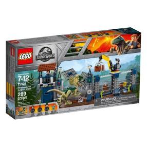 LEGO Jurassic World - Atak dilofozaura na posterunek 75931