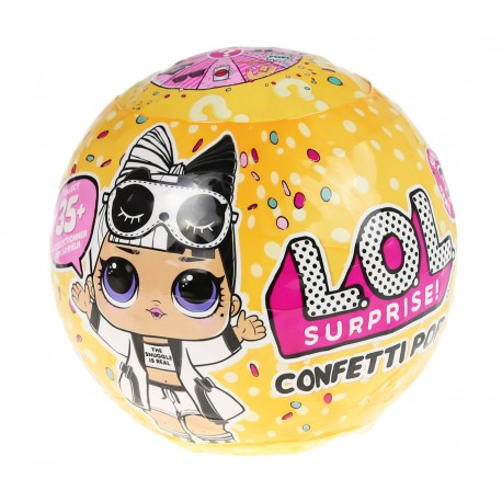 L.O.L. SURPRISE - Confetti Pop LOL w kuli niespodziance Seria 3.2 551560