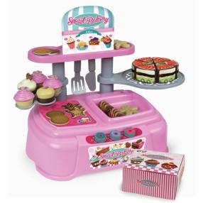 Chicos - Zestaw Cukiernia z tortem i ciasteczkami 30 Akcesoriów 83016