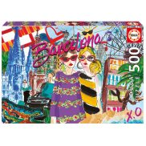 Educa - Puzzle Zabierz mnie do Barcelony 500 el. 17651