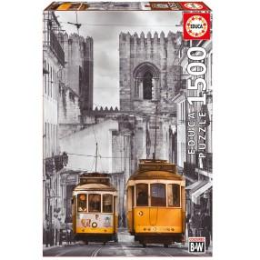 Educa - Puzzle Dzielnica Alfama Lizbona 1500 el. 16311