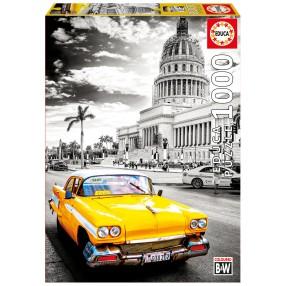 Educa - Puzzle Taxi w Hawanie Kuba 1000 el. 17690