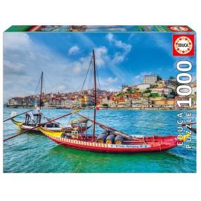 Educa - Puzzle Tradycyjne łodzie Rabelo Porto 1000 el. 17196