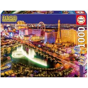 Educa - Puzzle Las Vegas Neonowe 1000 el. 16761