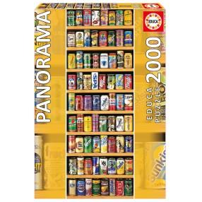 Educa - Puzzle Puszki Panorama 2000 el. 11053