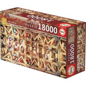 Educa - Puzzle Kaplica Sykstyńska 18000 el. 16065