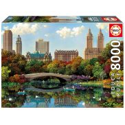 Educa - Puzzle Bow Bridge Central Park Alexander Chen 8000 el. 17136